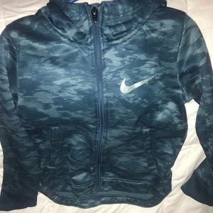 Youth Nike size 7 zip up hoodie